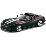 Modelauto Dodge Viper SRT-10 2008 zwart 1:43 - speelgoed auto schaalmodel