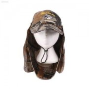 ELECTROPRIME Sport Fishing Camo Cap Sun UV Protection Face Mask Neck Cover Visor Hat 659B959