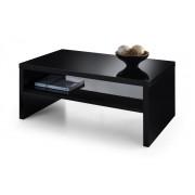 Metro High Gloss Coffee Table In Black