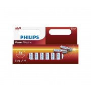 Philips LR6P12W/10 - 12 buc Baterie alcalina AA POWER ALKALINE 1,5V