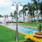 LIBERTI LAMP linea GARDEN Antares Lampione Grande Classico Da Esterno Con Sfera Globo D.25