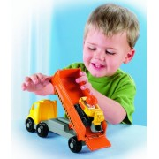 Fisher-Price Little People Wheelies Construction Carrier