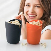 Joseph Joseph Mikrowellen-Popcornbox / Popcorn-Maker, 2er Set