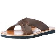 Clarks Men's Pennard Cross Brown Sandals and Floaters - 9 UK/India (43 EU)