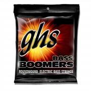 GHS Boomers Cuerdas para Bajo eléctrico de 4 cuerdas 45-95 Escala corta 45-60-75-95