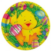 Easter Ducky Dessert Plates (8 Count) Party Accessory