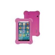 Tablet Multilaser Kid Pad Quad Core 8gb Wi-Fi Tela 7 Android 4.4 - Rosa