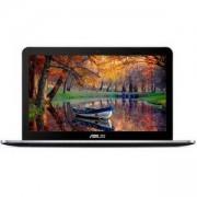Лаптоп ASUS K756UQ-T4185D, 17.3 инча, 8GB, 1TB + 256GB SSD, ASUS K756UQ-T4185D /17/I5-7200