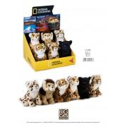 Jucarie Plus Venturelli - National Geographic Baby Feline Mari 17 Cm - AV770706
