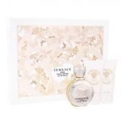 Versace Eros Pour Femme confezione regalo Eau de Parfum 50 ml + lozione per il corpo 50 ml + doccia gel 50 ml da donna