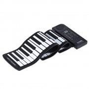 Sonstige Marke Elektronisches Piano Klavier (61 Tasten) Silikon mit Lautsprecher & Akku