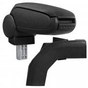 [pro.tec]® Lakťová opierka pre Ford Focus II - lakťová opierka - s odkladacím priestorom - tkanina - čierna