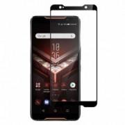 Folie protectie pentru Asus ROG Phone din sticla securizata full size negru