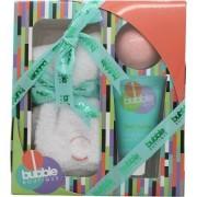 Style & grace bubble boutique sock confezione regalo paio di calzini (taglia unica) + 90g bath bomb + 70ml lozione per i piedi
