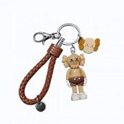 Zanzan Llaveros para manualidades, Llavero suave lindo de dibujos animados llaves del coche Decoración llaveros Anillo Mini Mochila gancho llavero for el bolso y accesorios de la correa de lazo Llavero Chaps