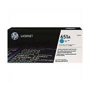 HP 651A (CE341A) toner cian