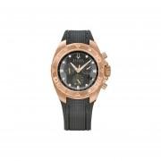 Reloj Bulova 64b113 Accutron 300m -Rosa Y Negro