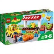 Set de constructie LEGO Duplo Piata Fermierilor