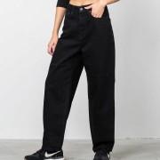 SELECTED Felli Volume Mom Jeans Black Denim