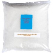 Natural Epsom Salt For Relaxation Bath Refreshment Pain Relief Therapeutic Spa Treatment (250 gm)