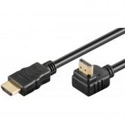 Cablu HDMI cu ethernet Well 19p tata/HDMI 19p tata, conectori auriti, lungime 5 m