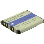 2-POWER Batterij - Li-Ion - 600 mAh - wit - voor Nikon Coolpix A100, A300, S2900, S32, S33, S3700, S5300, S6800, S6900, S7000, W100, W150