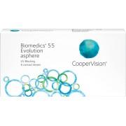 Biomedics 55 evolution - 6 lenzen