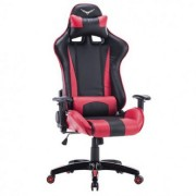 Sillas Gaming Naceb Technology Sniper NA-0904R negro/rojo