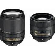 Pachet Obiective Foto Nikon AF-S 85mm f1.8G + 18-140mm f3.5-5.6G ED VR AF-S DX