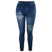 Lynne módní džegíny B1180-11 XL modrá