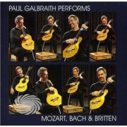 Video Delta Galbraith,Paul - Paul Galbraith Performs Mozart Bach & Britten - CD