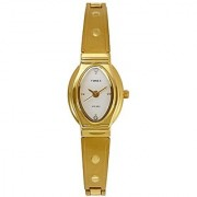 Timex Classics Analog White Dial Womens Watch - JW11
