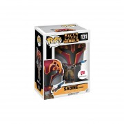 Funko Pop 131 Sabine Masked Star Wars Rebels Walgreens Stick