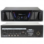 Amplificator sonorizare Ibiza, tehnologie mosfet, jack 6.35 mm, 2 x 800 W