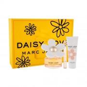 Marc Jacobs Daisy Love set cadou apa de toaleta 100 ml + lotiune de corp 75 ml + apa de toaleta 10 ml pentru femei