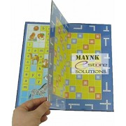 Ekta Spellex Junior Game Board Game for Kids Educational Improves Mental Ability 2 in 1 - Two Exciting Word Games in one
