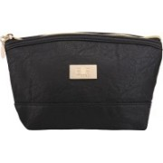 Elite Models Cosmetic Pouch(Black)