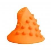 EY Ratón de masaje Funda de silicona cubierta protectora para Delux óptico M618-Naranja