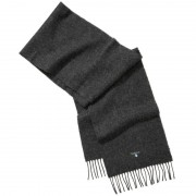 Barbour Plain Lambswool Scarf Grå