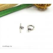 Închizători toggle simple (50 buc)