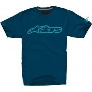 Alpinestars Blaze 2 Camiseta de la bicicleta Azul Oscuro S