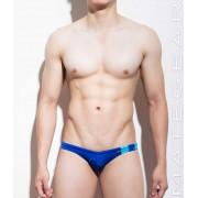 Mategear Si Ki Flat Front Mini Bikini Swimwear Blue 950903