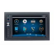 DVD Player Auto 2 DIN cu USB, Card SD, Navigatie si Bluetooth Audiovox - BLO-VME-9125NAV
