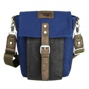 Licence 71195 College PiqueC Small Shoulder Bag Navy LBF10921-BL