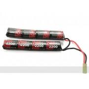 Acumulator Mini-Type crane stock 9,6V-2200 MAH (EP)