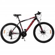 Bicicleta mountainbike Omega Thomas 27.5 cadru 49cm negru rosu 2019