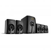 Bocinas Bluetooth 5.1 canales Vorago SPB-500 color negro
