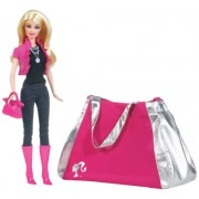 Mattel Barbie Year 2009 A Fashion Fairytale Series 12 Inch Doll Giftset (T2575) (Pink)