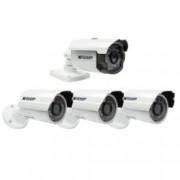 """Комплект аналогови охранителни камери 3x KGUARD HW307E + 1x KGUARD HZ213A, 700 TVL, насочени (""""bullet"""") камери, 3.6mm обектив, IR осветеност (до 30 метра), външни"""
