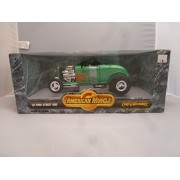 Ertl American Muscle 1932 Ford Street Rod 1/18 Scale Diecast Super Collectiable Hard To Find Green